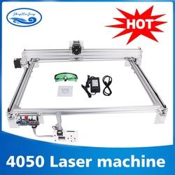 Arbeits bereich 40cm x 50 cm, 500 mw/2500 mw/5500 mw laser cnc maschine, desktop DIY Violet Laser Gravur Maschine Bild CNC Drucker