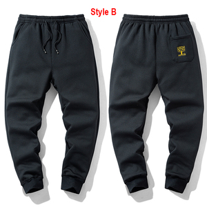 Image 3 - Super Warm Winter Fleece Sweatpants Men Thicken Jogger Pants Male Streetwear Long Trousers Big Sizes 6XL 7XL 8XL