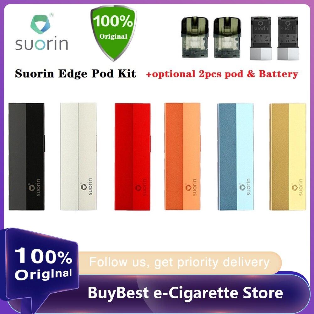 Original Suorin Edge Pod Vape Kit With 2pcs Battery 230mAh & 2pcs Suorin Edge Pod System Kit E Cig Vs Suorin Air/ Drag Nano