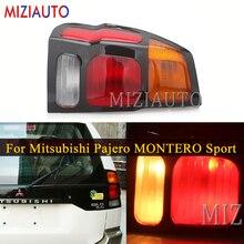 Left/Right Rear Tail Lights For Mitsubishi Pajero MONTERO Sport 1999 2008 Warning Light Brake Light turn signal taillights
