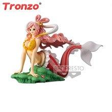 Tronzo Original Anime nuevo de una pieza brillo y glamour princesa Shirahoshi de PVC figura de acción modelo de muñecas