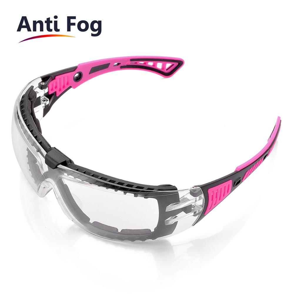 SAFEYEAR Safety Glasses Anti-shock PC Lens Goggles Anti-splash Anti-UV Windproof Riding Protective Glasses Working Eyewear