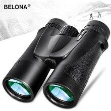 Prismáticos profesionales BAK4, binoculares de caza y turismo con revestimiento HD, Prisma FMC, telescopio militar potente Visible a baja luz, 10x42