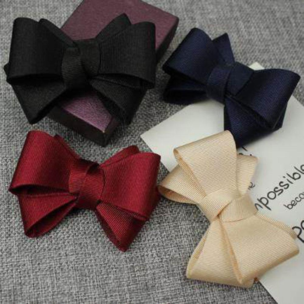 1 Pcs Free Shipping Korean Style Candy Color Silk Bowknot Shoe Clip Buckle Accessories Hand-made Shoe Decorations