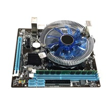 Computer Mainboard HM55 Desktop Lga 1156 Memory I5 1set 4G Fan Kit Cooler Game-Assembly-Accessories