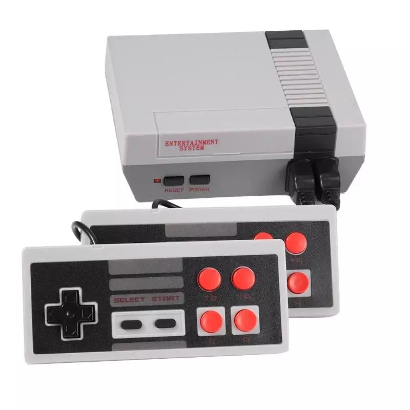 Portable TV Game Console AV Output 8Bit Retro Gaming Console Built-in 620 Classic Games Player with Dual Gamepads