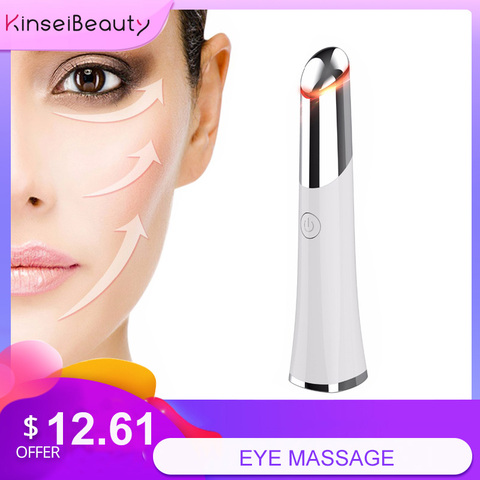 o removedor do enrugamento aqueceu a pena do massager do olho do sonic remove a