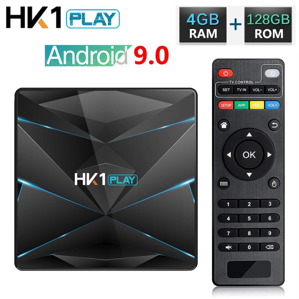 Top-Box Tv-Receiver Hk1 Play Amlogic S905x2 4k Android Media-Player Wifi-Set Samrt ARM