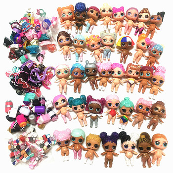 5/10 Sets 100% Original LOLs Dolls L.O.L. Surprise Can Choose 8CM Big sisters with Clothes Dress Accessories Toy Girls Gift