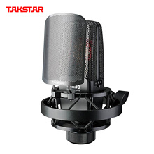 Microphone Windscreen Recording Takstar Tak55 Professional 3-Pickup-Patterns with Shock-Mount
