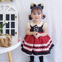 Summer Tutu Dress for Girls Dresses Kids Clothes Wedding Events Flower Girl Birthday Party Costumes Children Clothing Lolita 6T