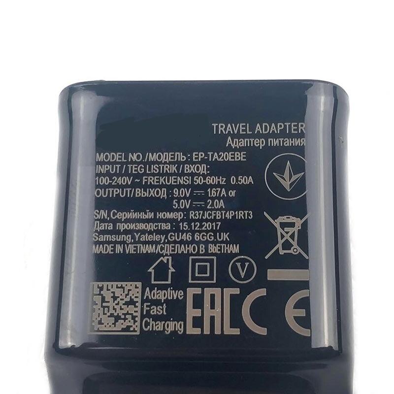 Зарядное устройство для Samsung, USB-кабель для быстрой зарядки для Samsung A51, A71, A70, A50, A50s, A20, A30s, A40, S8, S9, S10, S20, Note 8, 9, 10-3