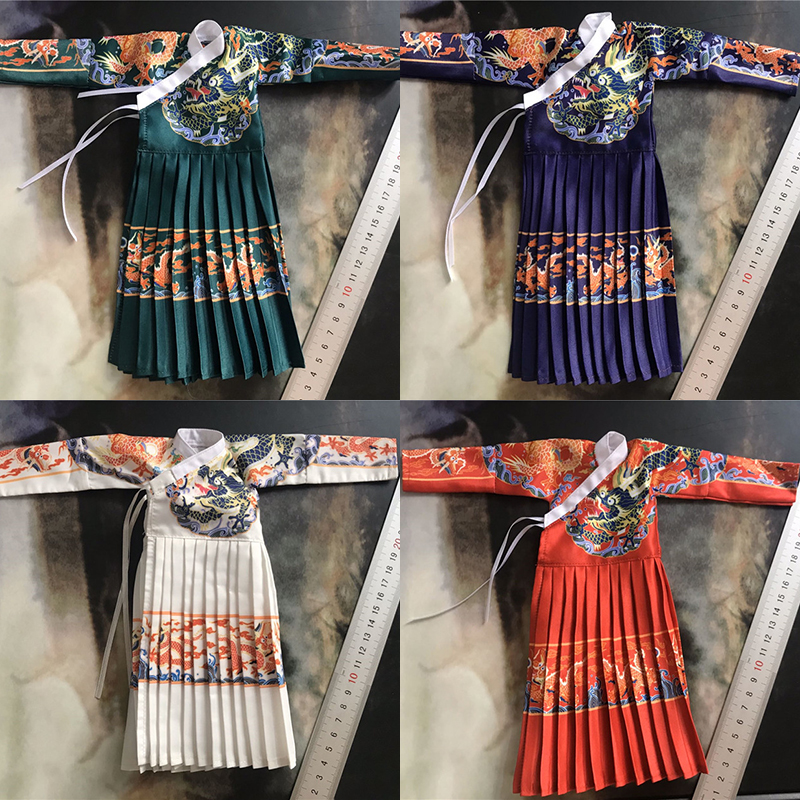 1/6 Ming Dynasty Royal Forest Army Commander's Robe Jin Yiwei Flying Fish Suit Emperor Dragon Robe In Stock