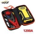 Пусковое устройство GKFLY для автомобиля, 1200 а, 12 В, портативное пусковое устройство, внешний аккумулятор для бензиновых и дизельных автомобил...