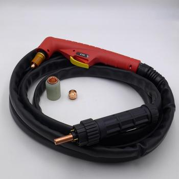 5 Meters 140A HF Pilot Arc A141 Plasma Torch Air-cooled Plasma Cutting Machine Central Connector oem trafimet style plasma torch straight a141 4m air cooled for cnc plasma cutting machine