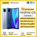 Глобальная версия в наличии realme C15 смартфон Helio G35 Octa Core 4 Гб 64 Гб 6,5