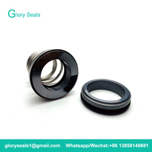 155-28 Single Spring Rubber Bellow 155 Mechanical Seal For Water Pump Material SIC/SIC/VIT