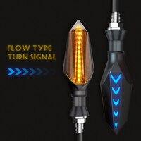 #728 2 12 led motocicleta transformar luzes de sinalização piscando acessórios para m109r bmw k1200lt rua tripla gsf 650