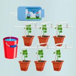 Urządzenie do automatycznego nawadniania inteligentny prysznic kwiat kroplówki roślina doniczkowa System nawadniania kropelkowego zraszacz leniwy czas podlewania kwiat