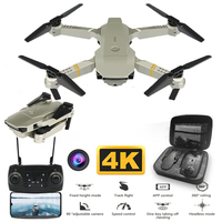 4K Drone With Wide Angle HD 780P 1080P 4K Camera WIFI FPV Helicopter Altitude Hold Portable Quadcopter E58 Selfi Foldable Dron