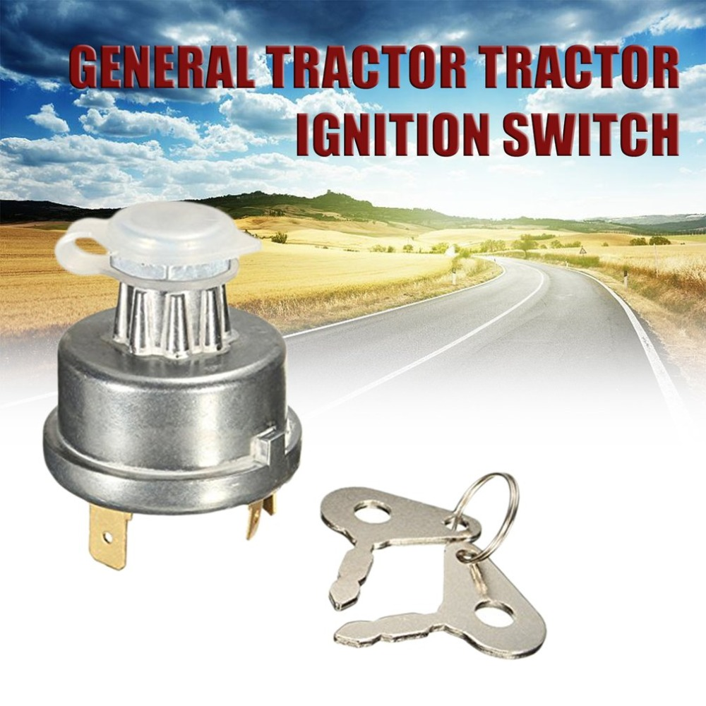 Tractor Ignition Switch Ignition Lock Starter 12239 for Massey Ferguson for David Brown for Case for John Deere