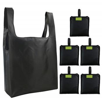 Women Men Eco Foldable Shopping Bag Unisex Reusable Food Fruit Vegetables Grocery Storage Shopper Tote Bag Pouch Handbags