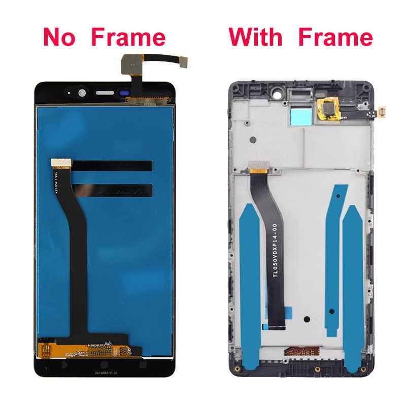 """Voor Xiaomi Redmi 4 Pro Lcd Touch Screen Digitizer Display Vervangende Onderdelen 5.0 """"Met Frame Voor Redmi 4 Prime 3G Ram Display"""
