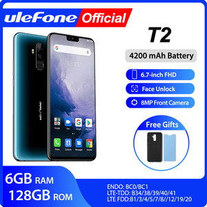 Ulefone T2 Smartphone Android 9.0 Dual 4