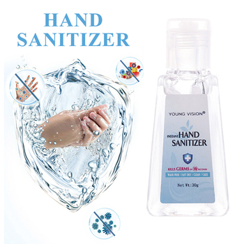 2020 Hot Salse Professional 30ml Travel Portable Hand Gel Anti- Liquid Disposable No Clean Waterless Hand Gel 1