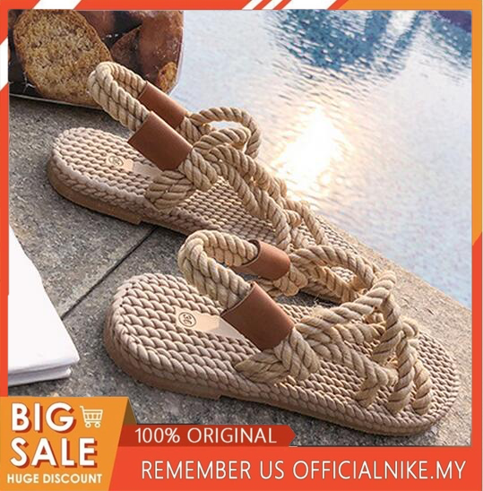 SAGACE Sandals Woman Shoes Braided Rope With Traditional Casual Style And Simple Creativity Fashion Sandals Women Summer Shoes|Middle Heels|   - AliExpress