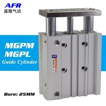 air Cylinder MGPM25-20Z MGPM25-25Z Thin cylinder with rod Three axis three bar  Pneumatic components MGPL25-20Z MGPL25-25Z AFR