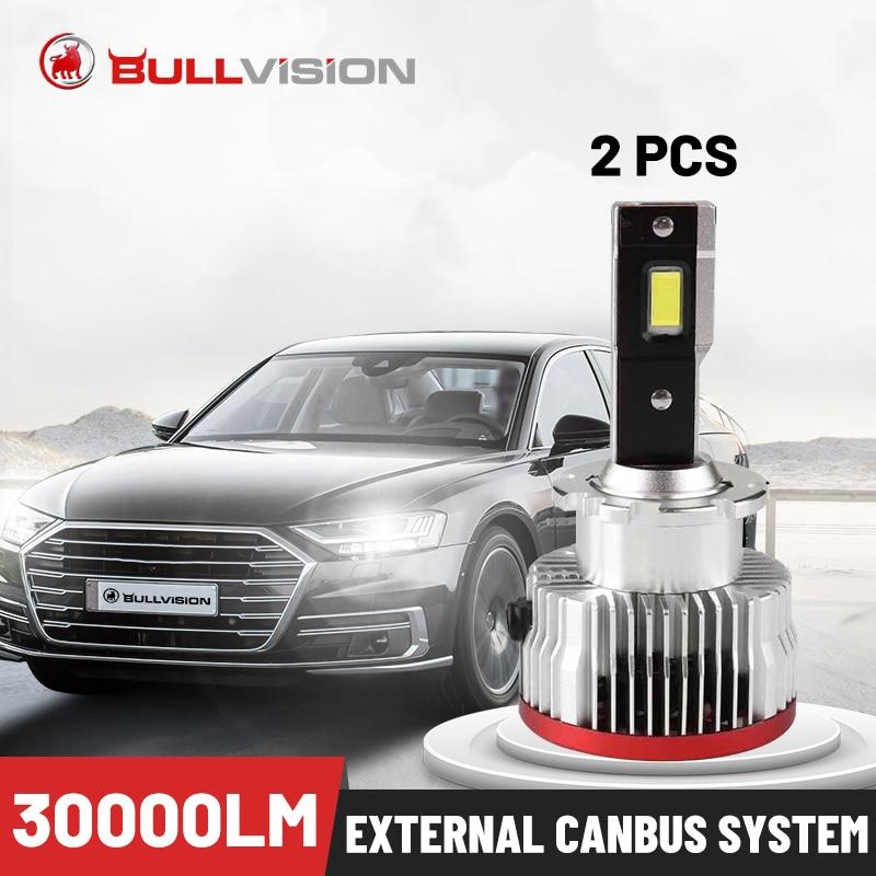 Bullvision LED D1S Auto Scheinwerfer Canbus Fehler Freies D2S D3S D4S D5S D8S D1R D2R D3R D4R Platz HIDs Vorschaltgeräte CSP Chips Plug & Play