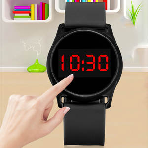 Electronic-Watch Touch New-Style Men Women Fashion And LED Alloy Couples Students