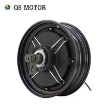 Двигатель QS 10*2,15 дюймов 3000 Вт 205 V3 70Kph маломощный бесщеточный и беззубчатый двигатель BLDC в ступице колеса для электрического скутера