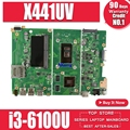 X441UV материнская плата для ASUS X441U X441UV материнская плата для ноутбуков i3-6100 PM оригинальная материнская плата
