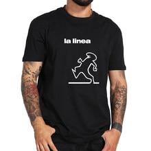 Balum La Linea – t-shirt 100% coton, avec image humoristique, grand espace, sous-verre, hauts européenne, Camisetas doux