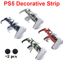 Game Controller Decorative Strip For Sony PS5 Gamepad Middle Housing Shell Decorative Board, Handle ABS Decorative Cover For PS5