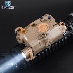 WADSN Tactical PEQ LA-5C Flashlight No Laser IR  Hunting PEQ 15 Tactical Laser Sight Lighting and Strobe Version Fit 20mm Rail