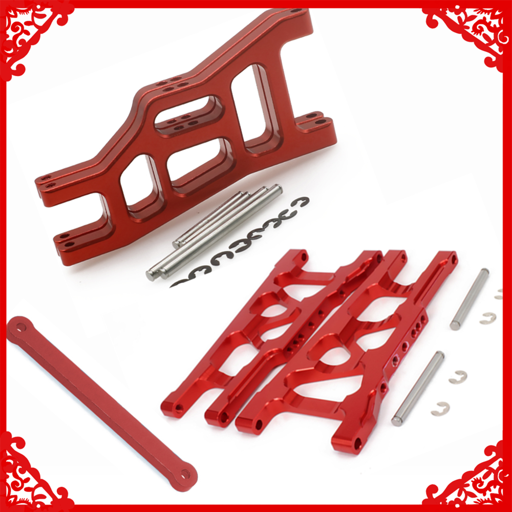 RCAWD Front&Rear lower suspension arm/tie bar for rc hobby model car 1/10 Traxxas Slash 2WD short course ho-pup upgrade parts