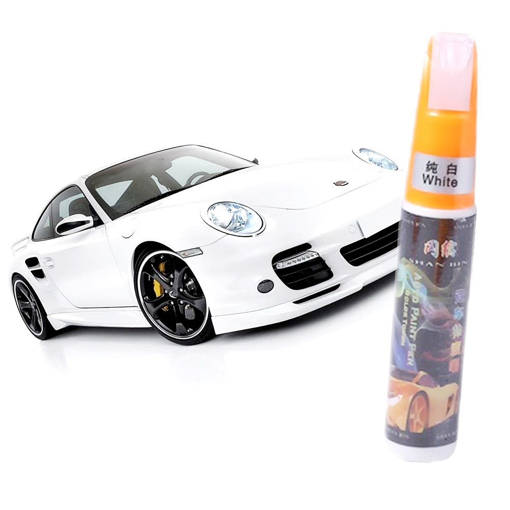 white Mending Car Remover Scratch Repair Paint Pen Clear Car Scratch Repair Pen Paint Repair Pen