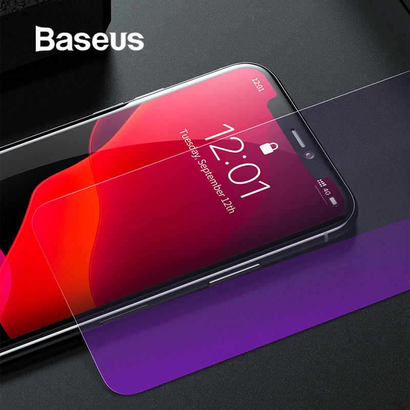 Baseus 0.3mm Ultra Dunne Full Screen Protector Voor iPhone 11 Glas Transparant Gehard Glas Film Voor iPhone 11 Pro MAX Glas