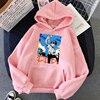 Jibaku Shounen Hanako kun Harajuku Womens Hoodie Fashion Fleece Hoodies Casual Clothes Street Loose Female Sweatshirt 4