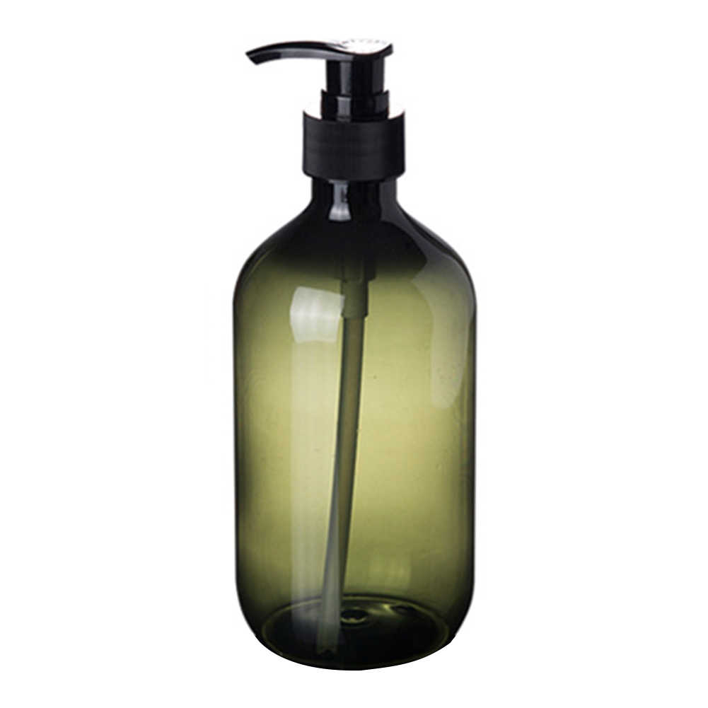 300/500ml Lozione Shampoo Doccia Gel Dispenser Portasapone Vuoto Pompa Vasca Da Bagno Bottiglia
