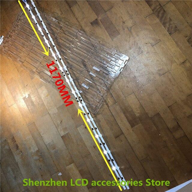 """36 adet LED arka ışık şeridi 14 lambası Samsung 58 """"TV UA58H5288 2014SVS58 LM41 00091F LM41 00091G UE58J5200 BN96 32771A BN96 32772A"""