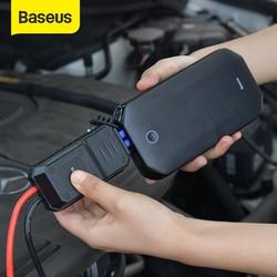 Baseus пусковое устройство автомобильный скачок стартер аккумулятор Портативный 12V 800A пускозарядное устройство Автомобильный аварийный усил...