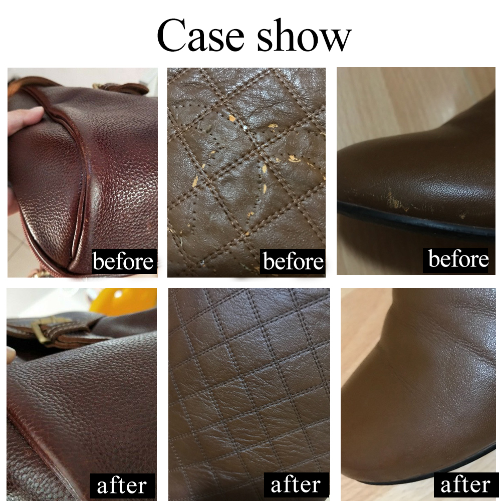 US $4.74 21% OFF|Brown Leather Paint Painting Leather Sofa Bags Shoes  Clothes Dye 30ml Acrylic Paint Repair&Refurbished Leather Paint Set-in  Paint By ...
