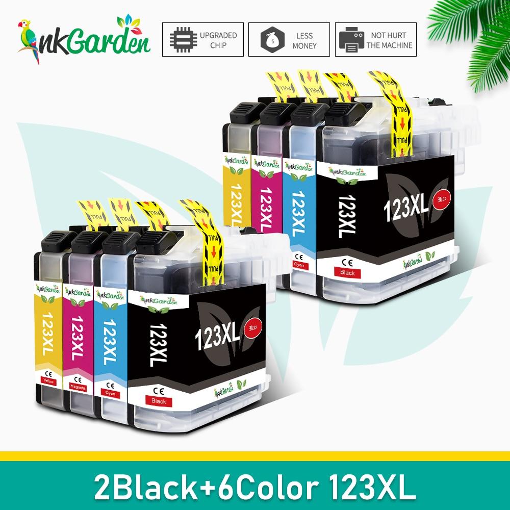 Для Brother LC123 LC 123 XL совместимый картридж с чернилами MFC-J4510DW MFC-J4610DW картридж с чернилами для принтера LC 123 MFC-J4410 принтер