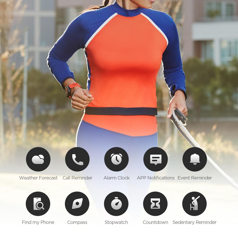 Yeni Amazfit Pace Smartwatch Amazfit akıllı bluetooth saat müzik GPS bilgi itme kalp hızı Xiaomi telefonu için redmi 7 IOS