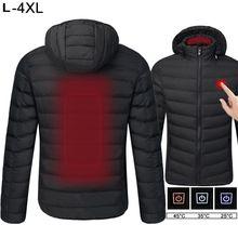 Теплые куртки, пальто, высокое качество, мужские, женские, уличные пальто, USB, Электрический нагрев, куртки с капюшоном, теплые зимние куртки
