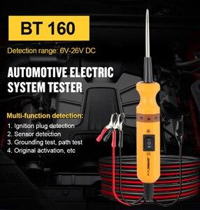 Image 2 - AUTOOL BT160 حلبة السيارة تستر أداة تشخيص السيارات 12V الطاقة التحقيق ، الكهربائية المسار الحالي ، ماس كهربائى محدد